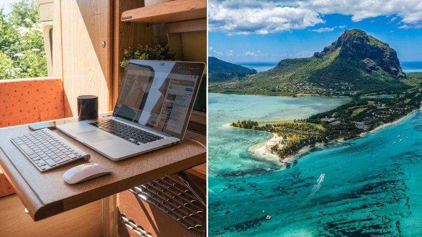 L'île Maurice propose d'alléchants visas de télétravail pour une année complète