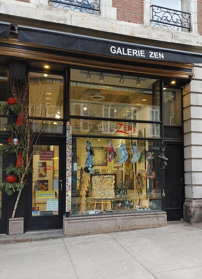 Galerie Zen: sortir ses peintures du jeu