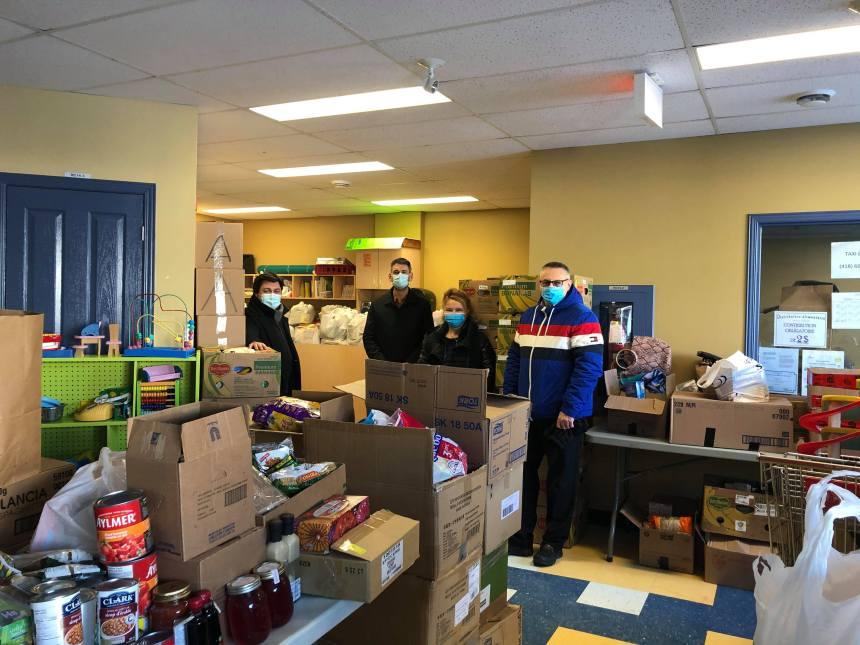 Un don important aux banques alimentaires du grand Beauport