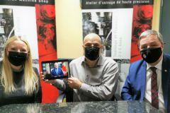 Visite virtuelle d'Erin O'Toole chez AMEC-Usinage
