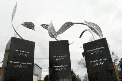 Mémorial inauguré à la grande mosquée de Québec