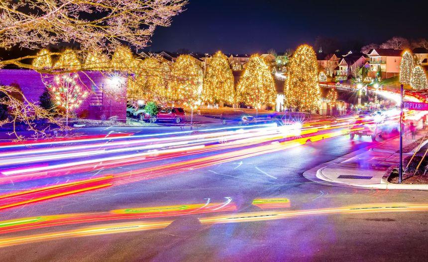 Parcours lumineux à visiter en voiture à L'Ancienne-Lorette