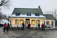 On tricote un hiver à Québec