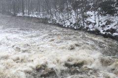 Des évacuations par centaines durant le déluge de Noël