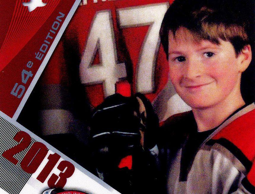 Fausses cartes de hockey d'Alexis Lafrenière vendues sur Internet
