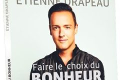 Étienne Drapeau sort un premier livre sur le bonheur