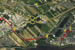 Choix du tracé sur Tessier expliqué par Hydro