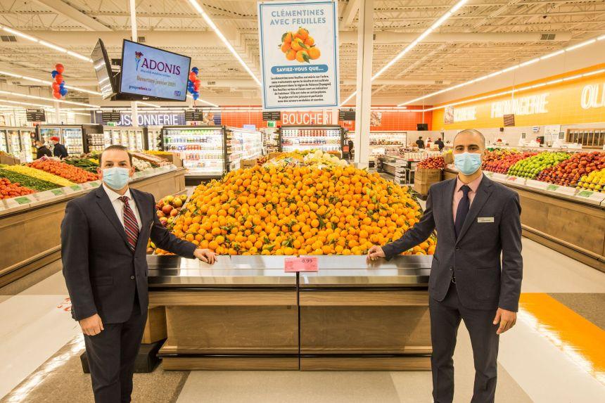 Adonis ouvre son premier marché aujourd'hui à Québec