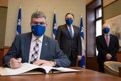 Responsabilités accrues pour le ministre Éric Caire