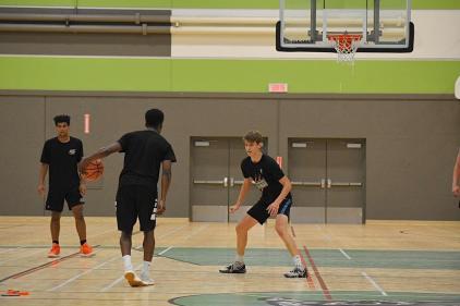 Basketball à distance pour les Condors de Saint-Jean-Eudes
