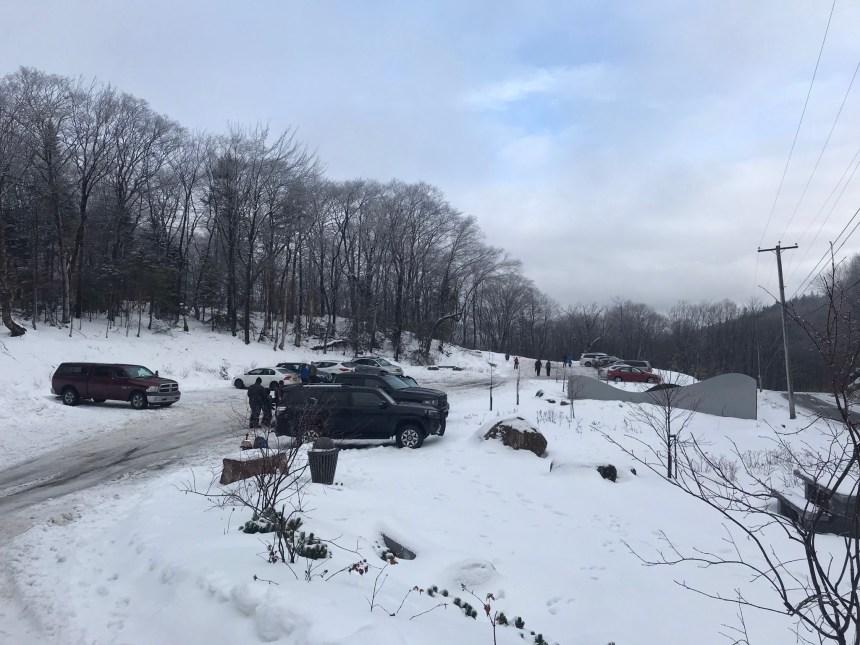 Vandalisme au Mont Bélair