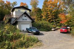 Maison démolie à Lac-Beauport