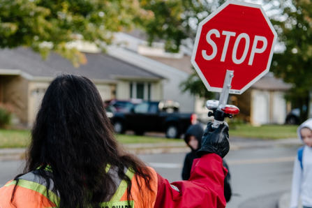 Mobilisation en faveur de la sécurité routière à Sillery