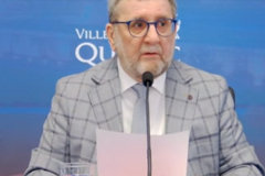 Régis Labeaume ne sera pas candidat à l'élection de novembre