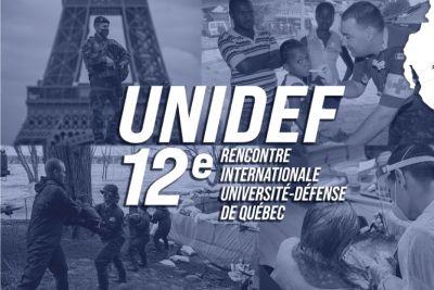 12eRencontre internationale Université-Défense