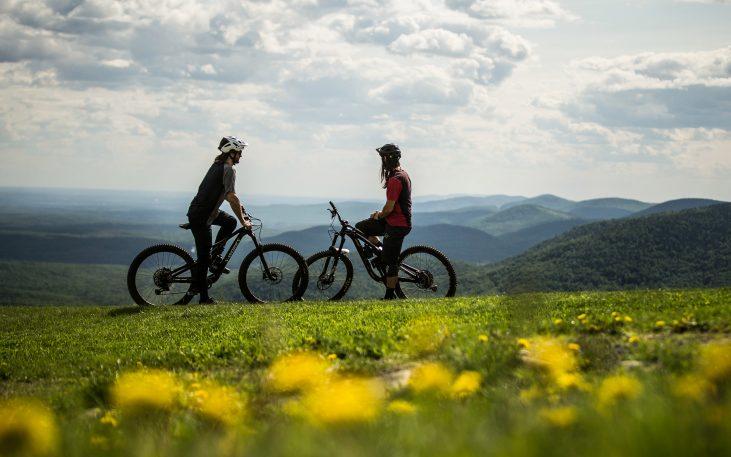 Vélo de montagne: un partenariat payant pour la région
