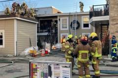 Important incendie dans Saint-Sauveur
