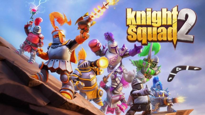 Knight Squad 2 arrive et met le party dans la cabane