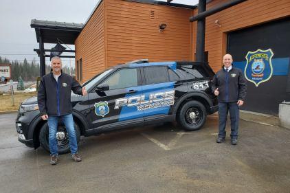 Nouveau look pour les autopatrouilles à Wendake