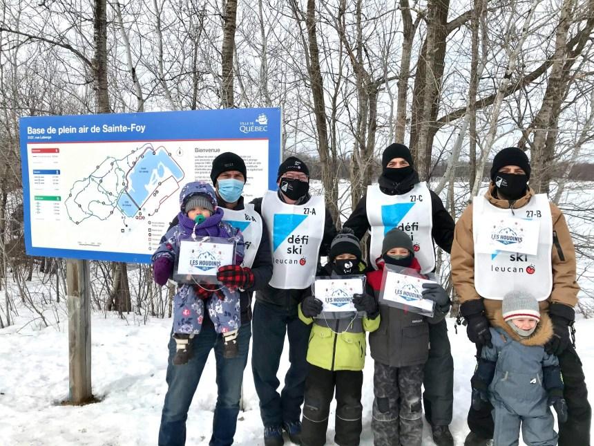 Le Défi Ski Leucan amasse 68 383$ à Stoneham