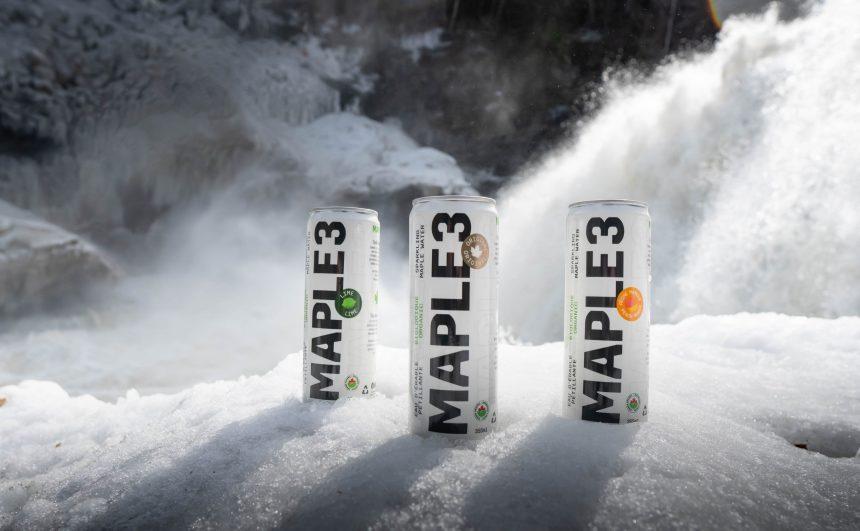 Maple 3 lance sa nouvelle gamme d'eaux d'érable gazéifiées
