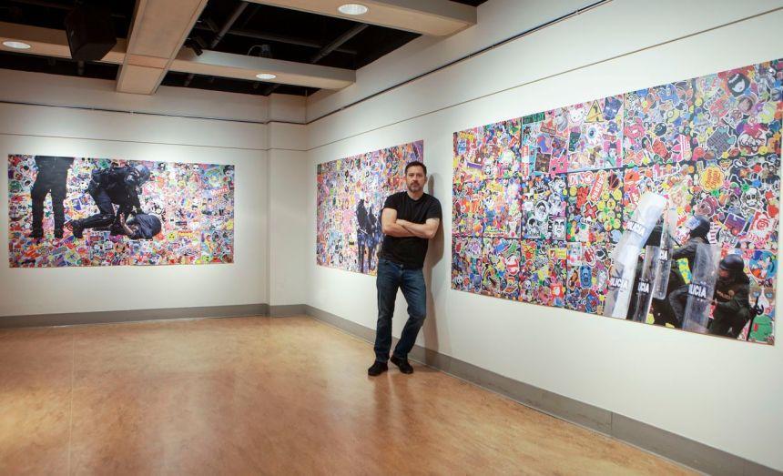Exposition Post Pop de David Charbonneau en mode virtuel