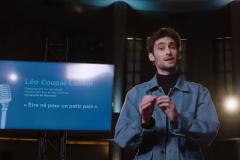 Léo Coupal-Lafleur lauréat du concours «Délie ta langue!»