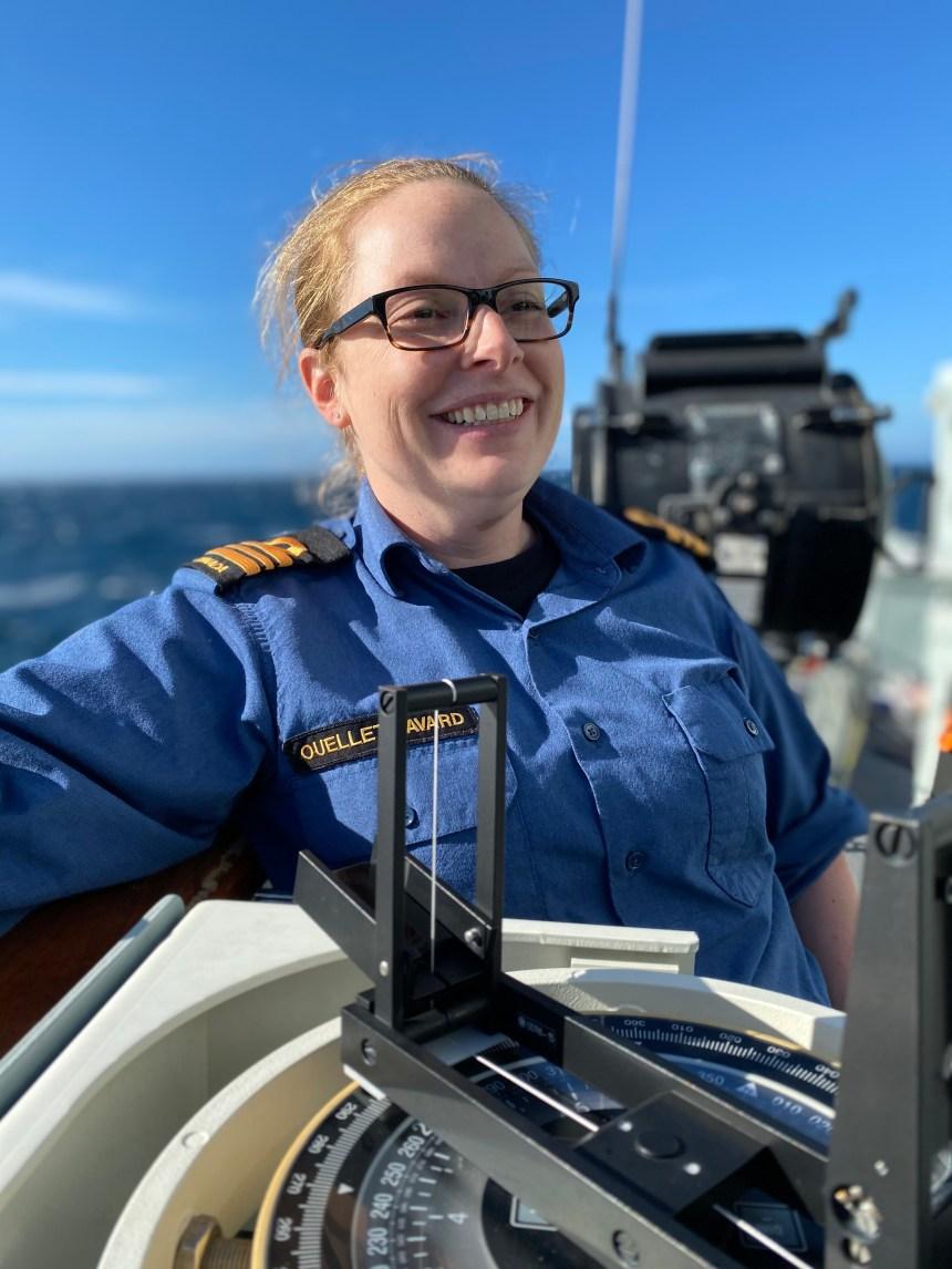 De cadet de Loretteville à capitaine d'un navire