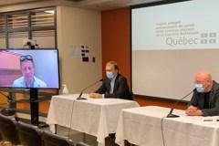 Le virus en «progression exponentielle» à Québec