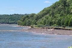 Projet de stabilisation révisé pour la plage Jacques-Cartier