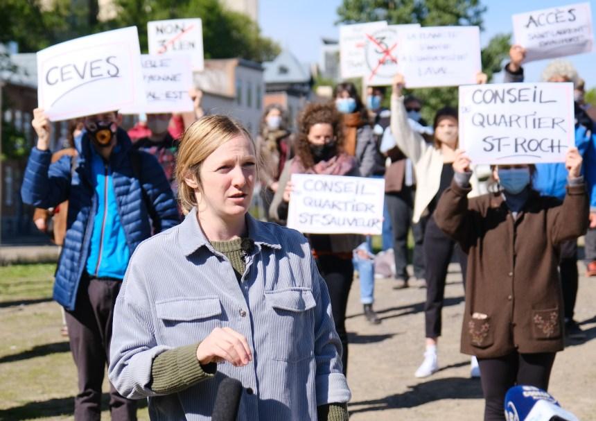 Levée de boucliers du Front commun contre le tunnel Québec-Lévis