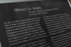 Québec honore le premier Africain de Nouvelle-France