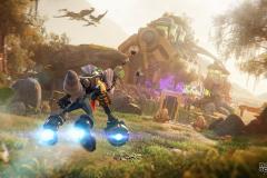 Ratchet & Clank Rift Apart invite les joueurs à tester la pleine capacité de la Playstation