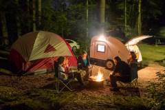 Campings achalandés: rien pour décourager les familles