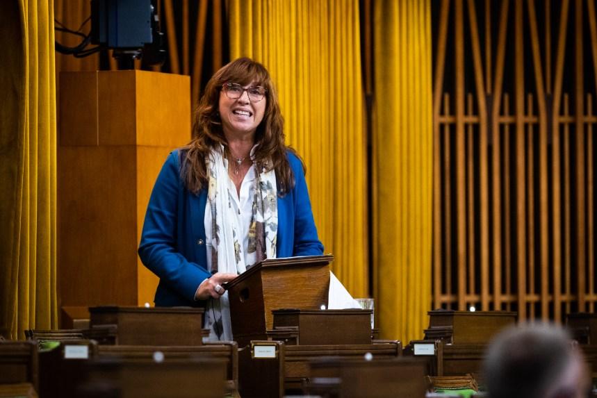 Caroline Desbiens sera à nouveau candidate