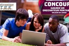 CONCOURS – Gagnez un ordinateur portable !