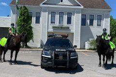 Patrouille équestre à Boischatel