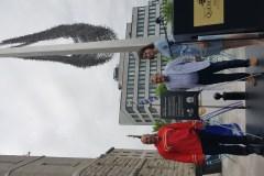 Place publique en l'honneur de la Nation Huronne-Wendat