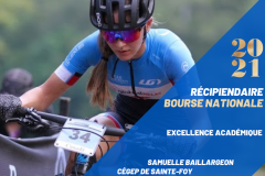Trois étudiants-athlètes du Cégep de Sainte-Foy récompensés