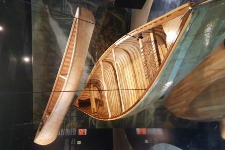 Le canot, symbole identitaire des Hurons-Wendats