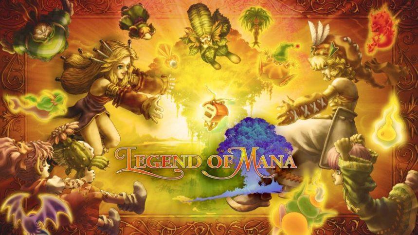 La légende de retour dans le remaster de Legend of Mana