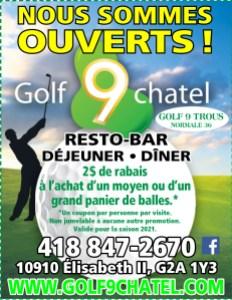 Rabais Golf 9Chatel