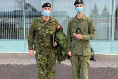 Un cadet-cadre de Québec récompensé
