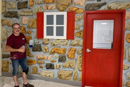 Murales au CHSLD de l'Ile