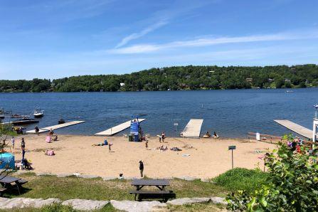 Les points d'eau populaires tout l'été en périphérie de Québec