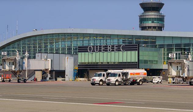 Soutien fédéral pour diversifier les services à l'Aéroport de Québec