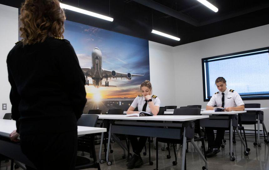 Nouveau programme collégial de pilotage d'aéronefs