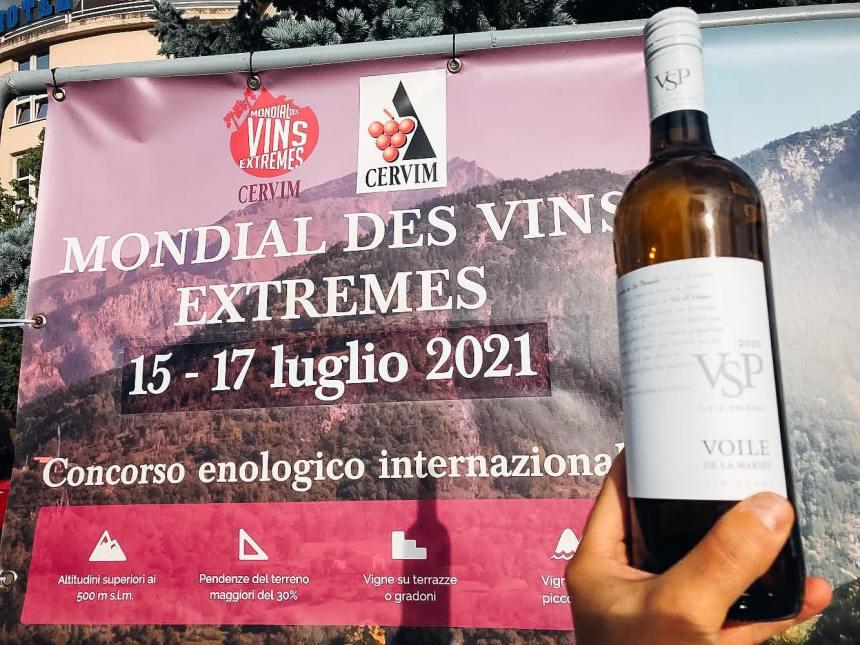 Un prix international pour un vin de l'ile