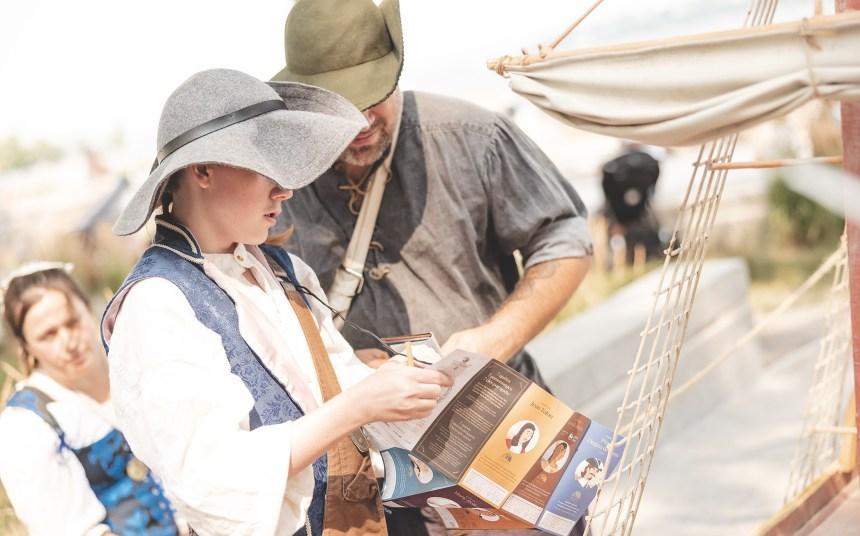 Succès de la Chasse au trésor des Fêtes de la Nouvelle-France