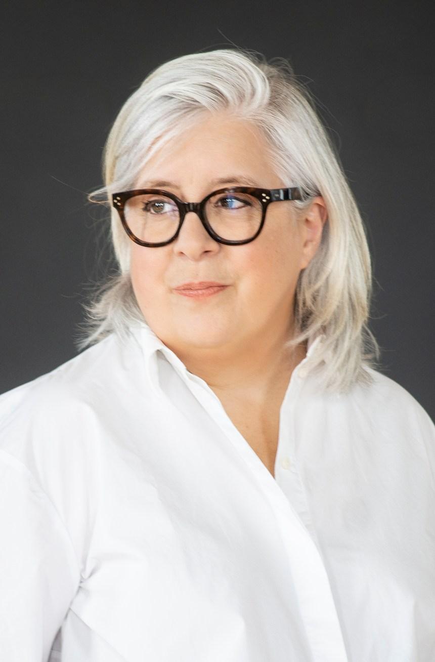 La chorégraphe Danièle Desnoyers à l'Île d'Orléans